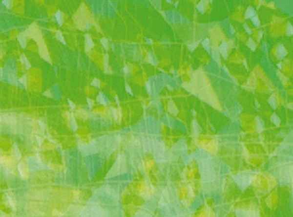 Verzierwachsplatten, flitter, 200x100x0,5mm, 10 St., gelbgrün