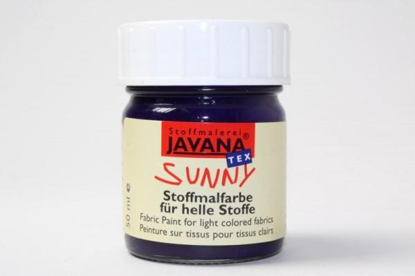 JAVANA TEXTIL SUNNY, für helle Stoffe, 50 ml, Violett
