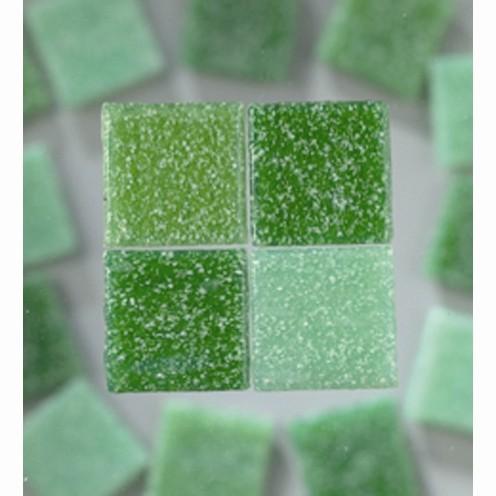 Efco Mosaik Glasstein pro, 10 x 10 mm, grünmix