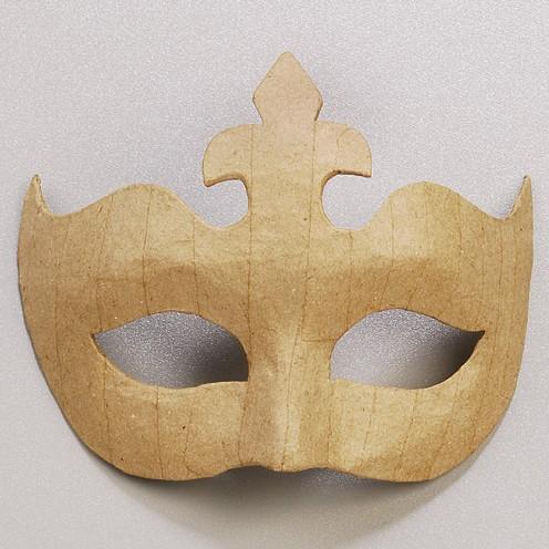 Augenmaske Krone,aus Pappmaché 14x17cm