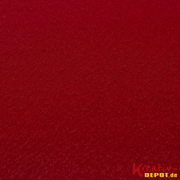 Bastelfilz, 1mm, 20x30cm, dunkelrot