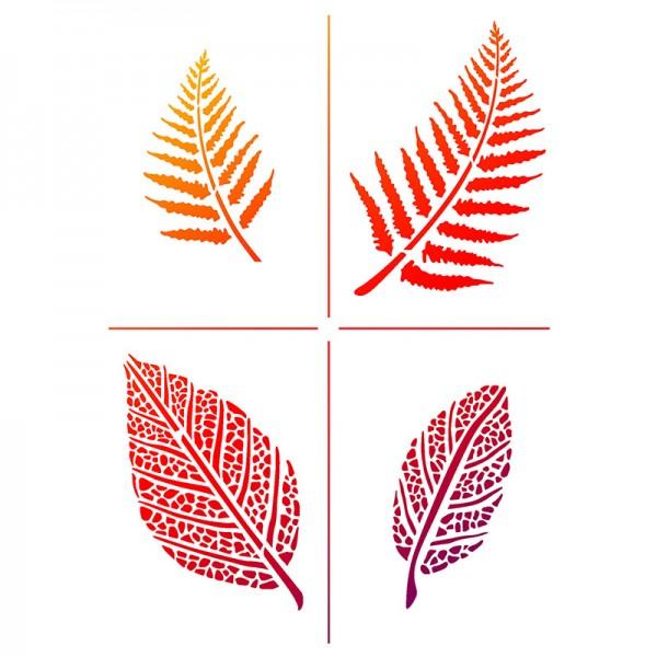 Viva Decor Universal-Schablone, DIN A4, Blätter