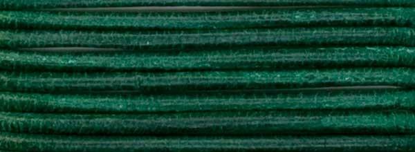 Lederriemen, 1,2 mm Ø - 1 m, Ziegenleder, dkl.grün