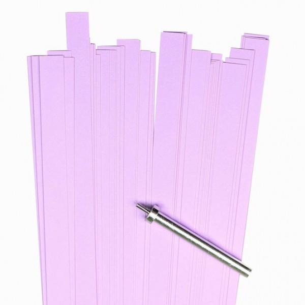 Quilling Papierstreifen, 10mm x 450mm, ametyst