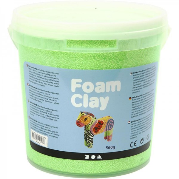 Foam Clay - Neongrün, 560g