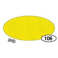 Krepppapier, 10er Pack, 50 cm x 2,5 m, gelb