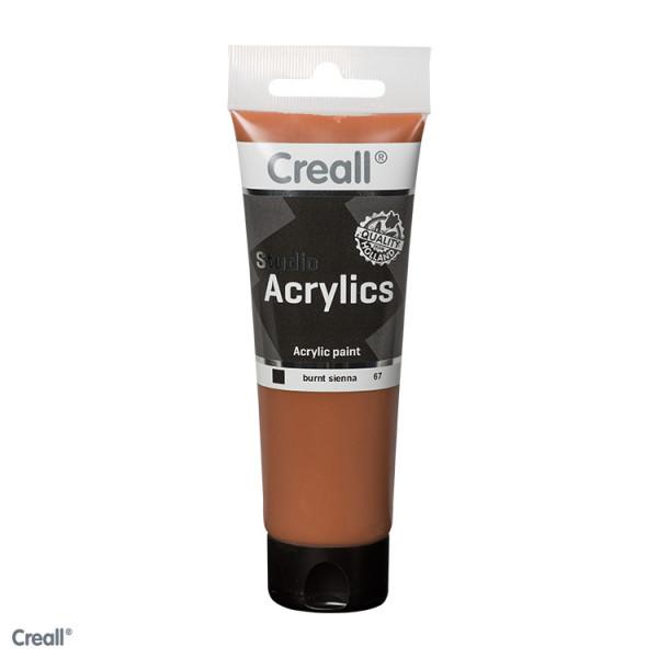 Creall-studio Acrylfarbe, 120 ml, Siena gebrannt
