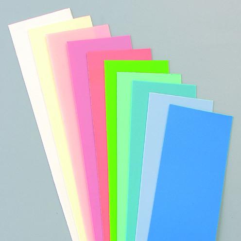 Wachsplatten Pastell Mischung, 200 x 50 x 0,5 mm