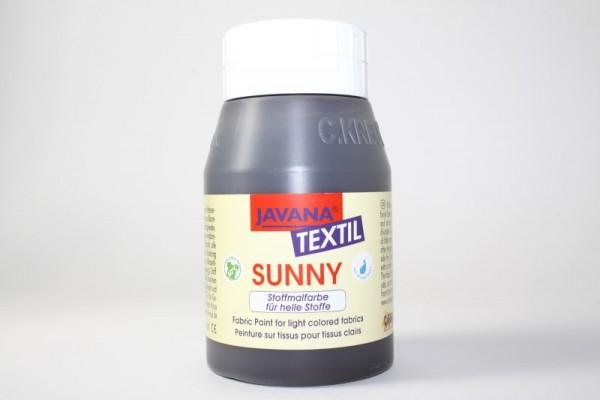 JAVANA TEXTIL SUNNY, für helle Stoffe, 500 ml, Dunkelbraun