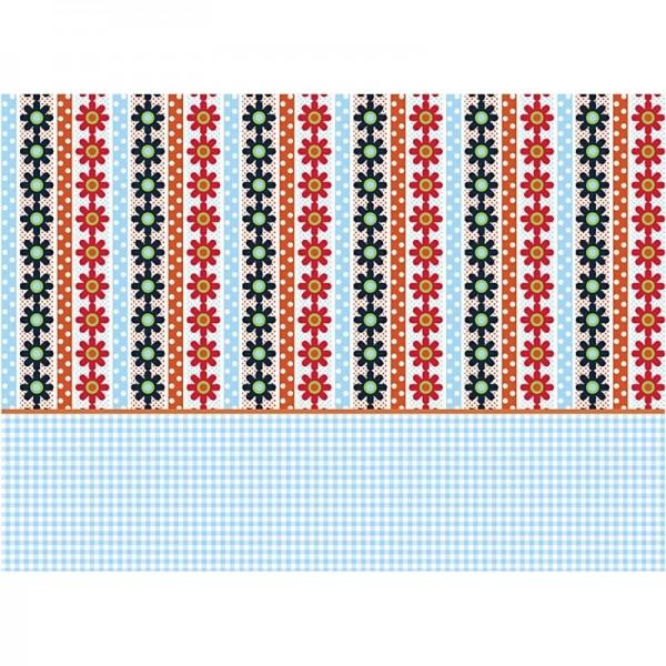 Decoupage-Papier, 17g, 25x35cm, 10 Blatt, Motiv Nr. 581