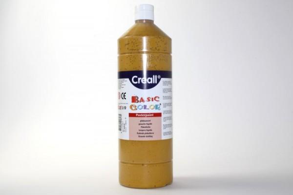 Basic-color, Schultempera, 1000 ml, ocker
