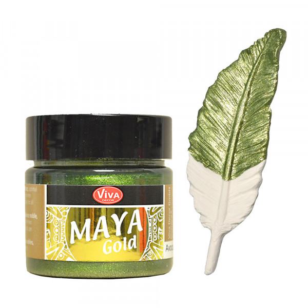 Viva Decor Maya Gold, 45 ml - Avocado
