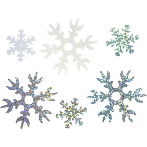 Streuteile Schneeflocke, 30g