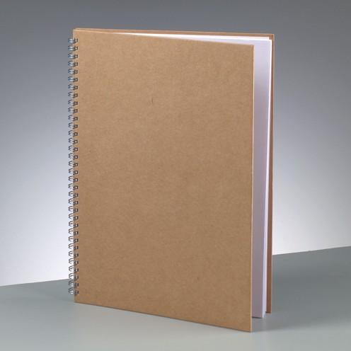 Notizbuch A4, aus Pappmachè, 30x21,5 cm