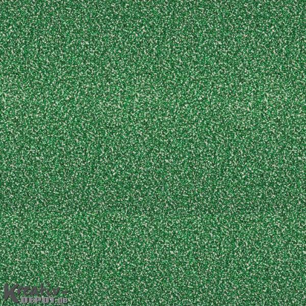 Glitterfolie selbstklebend - 50 x 70cm Rolle, grün