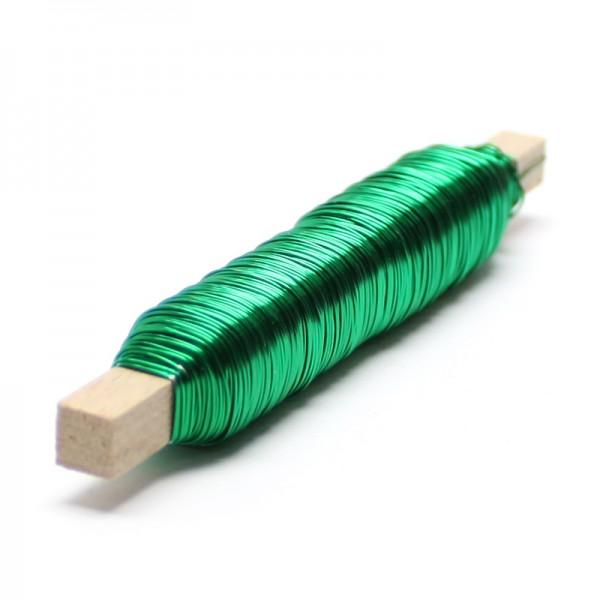 Wickeldraht, 0,5 mm Ø, 100g, ca. 50m - grün