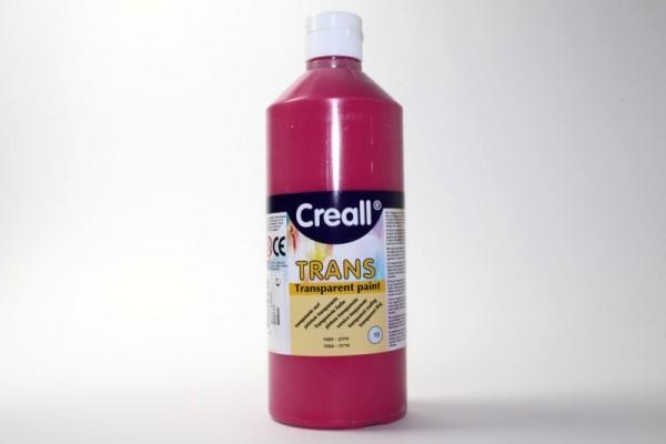 Creall-trans, transparente Farbe, 500 ml, rosa