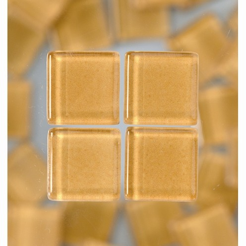 Efco Mosaik Glasstein soft, 10 x 10 mm, hellbraun