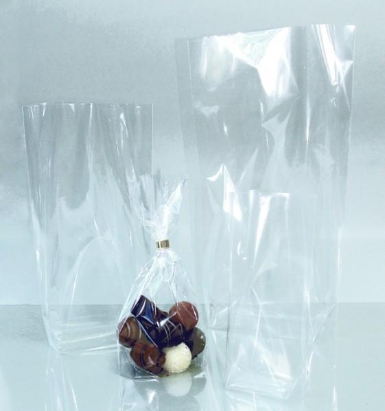 Bodenbeutel aus Cellophan, 100 Beutel, 115 x 190 mm