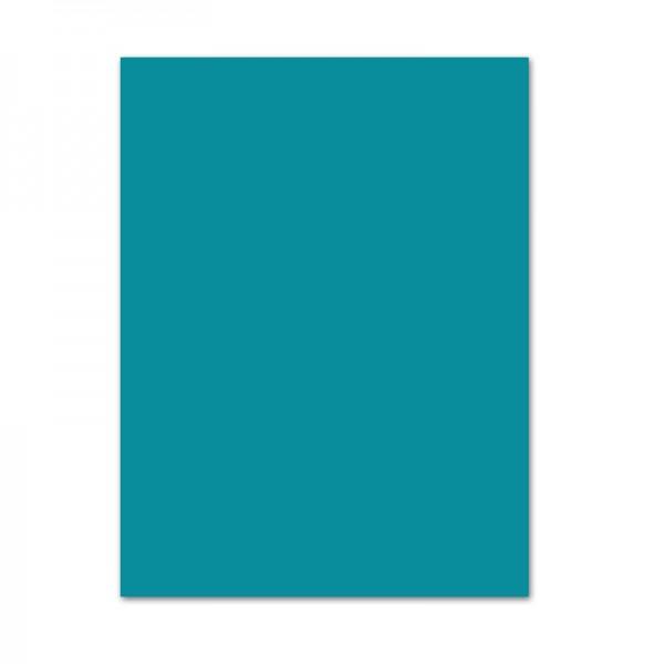 Tonpapier, 10er Pack, 130 g/m², 50x70 cm, türkis