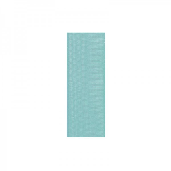 Chiffonband, 10mm breit, 10m lang - türkis