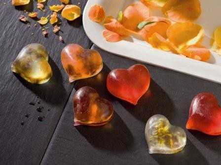 Seifen-Giessform Herzen