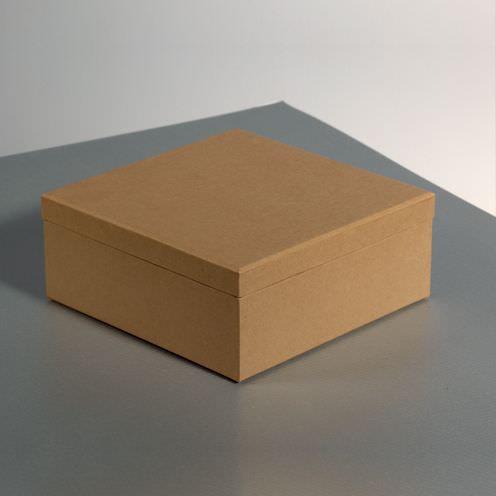 Box für Servietten, aus Pappmaché, 19 x 18 x 8 cm