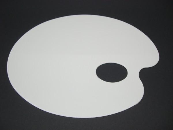 Kunststoffpalette, 17x22cm, oval