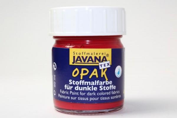 JAVANA TEXTIL Opak, für dunkle Stoffe, 50 ml, Cherry
