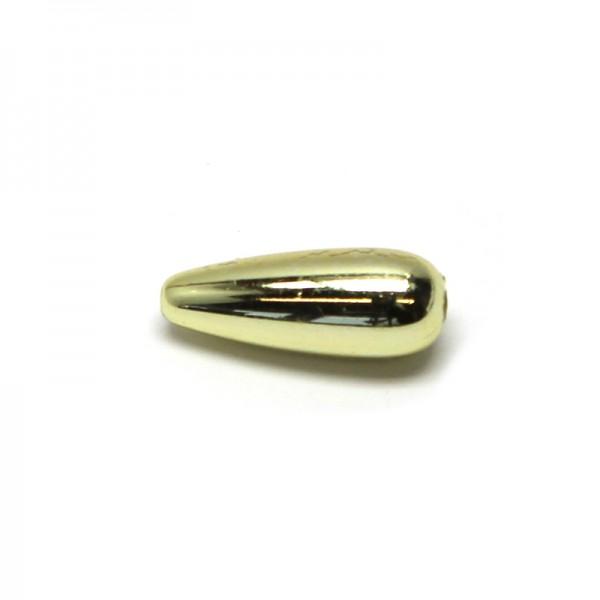 Wachstropfen 8 x 20 mm - gold, 6 Stk.