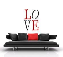 XXL-Schablone Love 70x100cm
