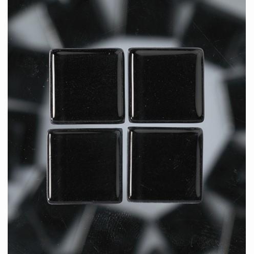 Efco Mosaik Glasstein soft, 10 x 10 mm, schwarz